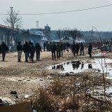 Displaced young men living rough in derelict railway warehouses