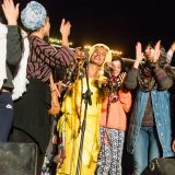 Portfolio, Moroccan singer Oum invites women from the audience to join her on stage at the Taragalte Festival